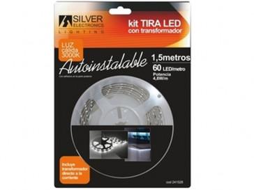 KIT TIRA LED 3000K 1.5M 241528 SILVER ELECTRONICS
