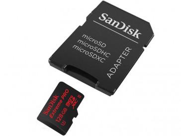 EXTREME MICRO SDXC 128GB + ADAPTADOR SD (SDSQXVF-128G-GN6AA) SANDISK