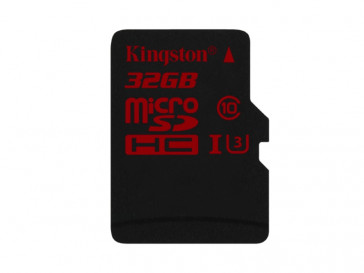 MICRO SDHC 32GB CLASE 3 UHS-I (SDCA3/32GBSP) KINGSTON