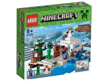 MINECRAFT LA GUARIDA EN LA NIEVE 21120 LEGO