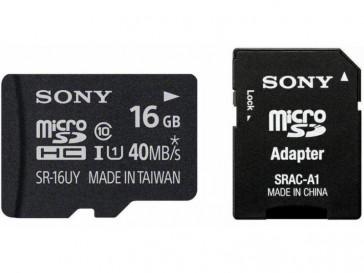 TARJETA MICRO SDHC SR16UYA 16GB SONY