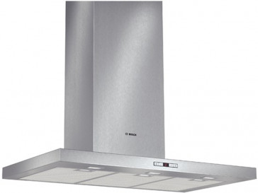 CAMPANA BOSCH DECORATIVA PARED 90CM ACERO LED DWB097E51