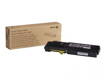 TONER AMARILLO AC PHASER 6600/WORKCENTRE 6605 106R02231 XEROX