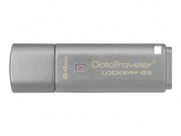 DATA TRAVELER LOCKER+ G3 64GB (DTLPG3/64GB) KINGSTON