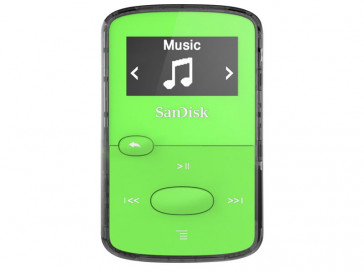 MP3 CLIP JAM 8GB VERDE (SDMX26-008G-G46G) SANDISK