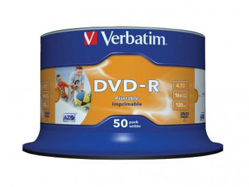 DVD-R 4,7 16X LATA 50 43649 VERBATIM