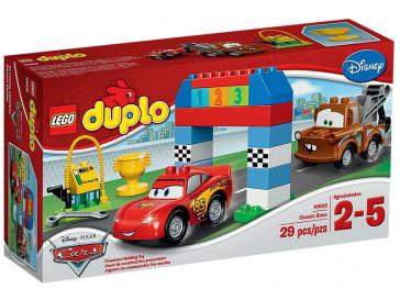 DUPLO CARRERA CLASICA DISNEY PIXAR CARS 10600 LEGO