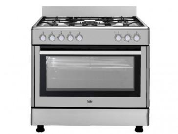 Beko cocina beko 5 quemadores encimera a gas butano y - Cocina de gas beko ...