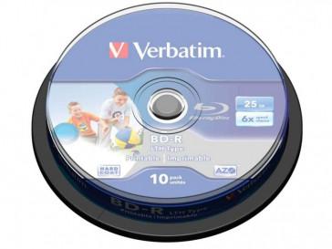 BD-R BLU-RAY 25GB 6X 10UND 43742 VERBATIM