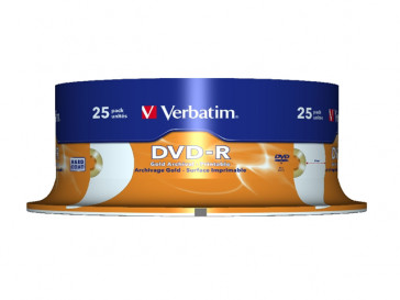DVD-R 4,7 16X LATA 25 43634 VERBATIM