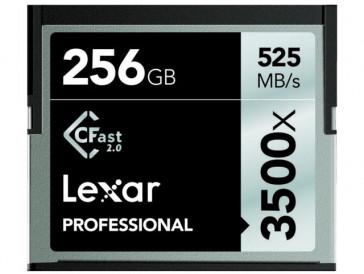 CFAST 256GB 3500X LC256CRBEU3500 LEXAR