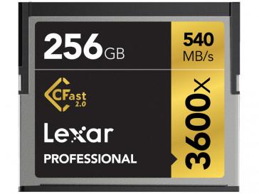 CFAST 256GB 3600X LC256CRBEU3600 LEXAR