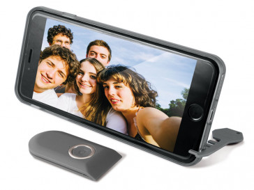 CARCASA SELFIE IPHONE 6 NEGRA KSIX