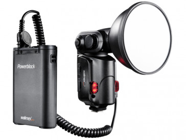 PRO LIGHT SHOOTER 180 INCL POWERBLOCK WALIMEX