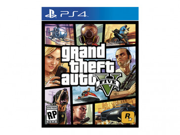 JUEGO PS4 GRAND THEFT AUTO V TAKE TWO INTERACTIVE
