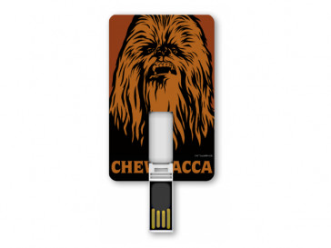 PENDRIVE ICONICCARD CHEWBACCA 8GB SILVER HT