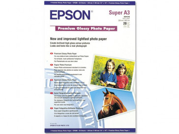 PAPEL A3+ FOTO GLOSSY PREMIUM C13S041316 EPSON