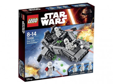 STAR WARS FIRST ORDER SNOWSPEEDER 75100 LEGO