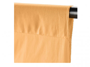 CLOTH BACKGROUND 2.85X6M APRICOT 19507 WALIMEX