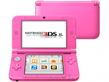 CONSOLA 3DS XL ROSA NINTENDO