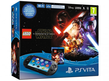 CONSOLA PS4 VITA + LEGO STAR WARS EL DESPERTADOR DE LA FUERZA 9838258 SONY
