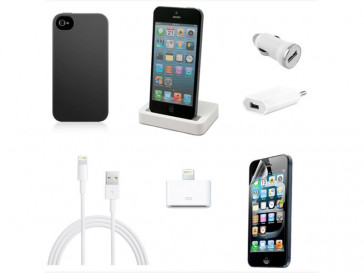 PACK ESENCIAL DE IPHONE 5 UNOTEC