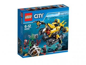CITY SUBMARINO DE GRAN PROFUNDIDAD 60092 LEGO