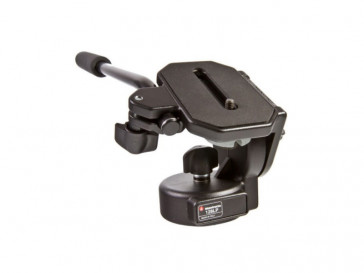ROTULA DE VIDEO CON PLATO LARGO 128LP MANFROTTO