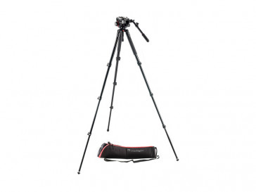 KIT TRIPODE ALUMINIO MVK504AQ + ROTULA 504HD MANFROTTO