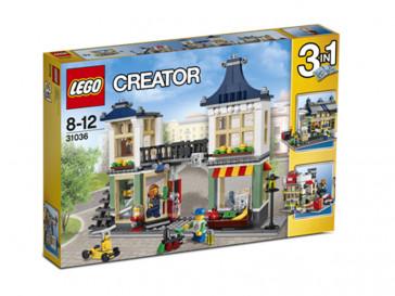 CREATOR TIENDA DE JUGUETES Y MERCADO 31036 LEGO