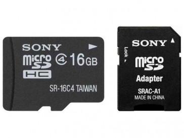 MICRO SDHC 16GB + ADAPTADOR SR16A4 SONY