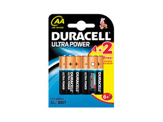 PILAS ULTRA POWER AA 4+2KP DURACELL