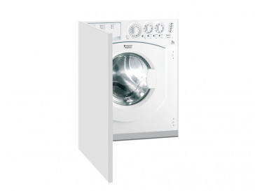 LAVADORA HOTPOINT ARISTON CARGA FRONTAL INTEGRABLE 7KG 1200rpm A+ AWM 129 (EU)