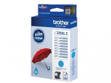 CARTUCHO TINTA CIAN LC225XLCBP BROTHER