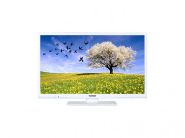 "TV DLED HD 24"" TELEFUNKEN DOMUS24EVW BLANCO"
