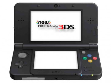 CONSOLA NEW 3DS HW NEGRA