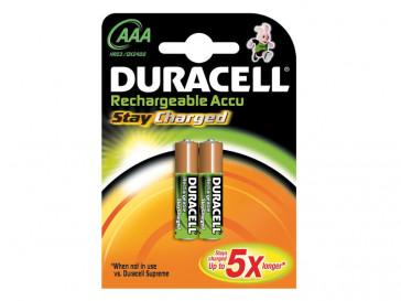 PILA AAA 2BCD RECARGBLE DURACELL