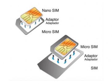 PACK ADAPTADORES NANO-MICRO SIM/MICRO SIM-SIM KSIX