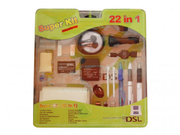 KIT NINTENDO DS 22 EN 1 MERCURY