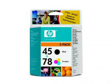 TINTA Nº 45 + Nº 78 (SA308AE) HP