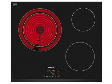 PLACA VITROCERAMICA SIEMENS ET631BK17E 60CM 3 ZONAS DE COCCION MARCO BISELADO