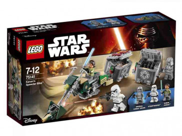 STAR WARS KANAN'S SPEEDER BIKE 75141 LEGO