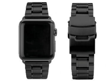 CORREA ACERO PARA APPLE WATCH 38MM MBD38AW-BLK NEGRA CASEUAL