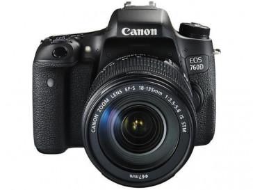 CAMARA REFLEX CANON 760D + 18/135 IS STM