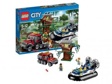 CITY ARRESTO EN AERODESLIZADOR 60071 LEGO