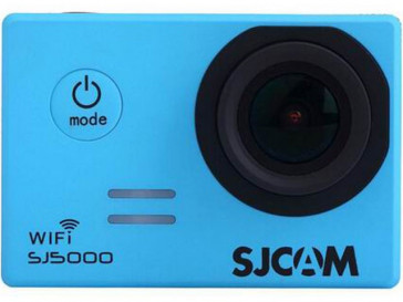 CAMARA VIDEO SJ5000 WIFI AZUL SJCAM