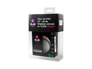 KIT FILTRO 77MM XS-PRO UV + LIMPIEZA BWKXU077 B+W