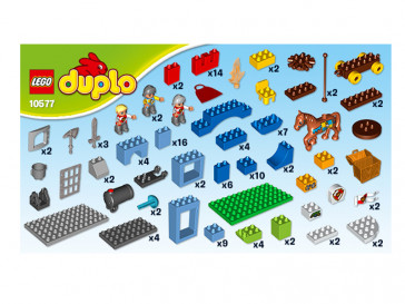 DUPLO BIG ROYAL CASTLE 10577 LEGO