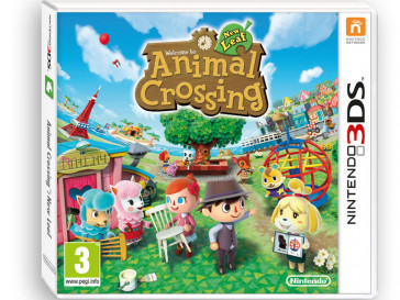 JUEGO 3DS ANIMAL CROSSING NEW LEAF NINTENDO