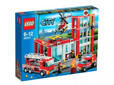 CITY ESTACION DE BOMBEROS 60004 LEGO